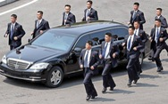 Bảo vệ lãnh đạo Triều Tiên là những cận vệ ưu tú nhất