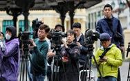 2.600 phóng viên nước ngoài đăng ký đưa tin sự kiện Mỹ - Triều