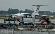 Máy bay chở nhân viên Triều Tiên tới Hà Nội