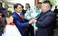 Người dân Hà Nội nồng nhiệt chào đón Chủ tịch Kim Jong Un