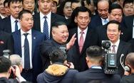 Chủ tịch Kim Jong Un rời ga Đồng Đăng tiến về Hà Nội