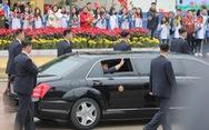 Video đội cận vệ Triều Tiên bảo vệ xe Chủ tịch Kim Jong Un tại ga Đồng Đăng