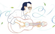 Google vinh danh nhạc sĩ Trịnh Công Sơn với biểu tượng Doodle