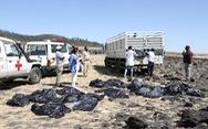 Mới xác định danh tính 3 người trong vụ rơi máy bay ở Ethiopia