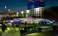 Đài phun nước nghệ thuật sẽ được xây lại trên phố đi bộ Nguyễn Huệ