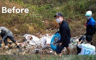 Dọn rác không chỉ là một trào lưu