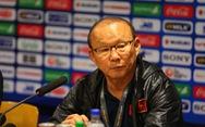Thắng nghẹt thở phút bù giờ, ông Park Hang Seo không vui