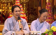 Bà Phạm Thị Yến lộng ngôn về tín ngưỡng thờ Mẫu