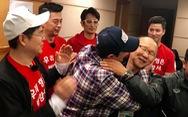 Clip đồng hương 'sao Hàn': Ahn Jung Hwan, Cha In Pyo chúc mừng ông Park
