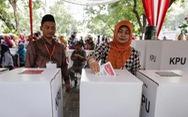 Indonesia bước vào cuộc bầu cử 1 ngày lớn nhất thế giới