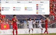 Đội tuyển U22 Việt Nam bị xếp vào nhóm 'lót đường' tại SEA Games 30