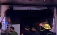 Cháy sau tiếng nổ lớn, sập mặt tiền nhà, một người chết