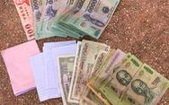 Một trung tá nhặt được ví tiền tìm người mất trả lại