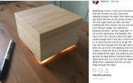 Ông chủ Facebook phát minh 'hộp ngủ' giúp vợ ngủ ngon hơn