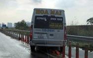 Chạy vào đường cấm, tài xế nói bị hành khách hối thúc