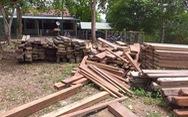 4,6m3 gỗ được giữ trái phép trong trụ sở UBND xã
