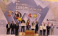 Các cơ thủ người Bỉ gom cúp Billiards carom thế giới TP.HCM 2019