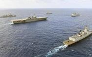 Đàm phán cứ đàm, Mỹ vẫn tập trận trên Biển Đông