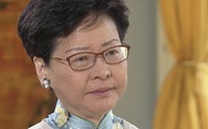 Lãnh đạo Hong Kong bị tố rơi 'nước mắt cá sấu' trên truyền hình