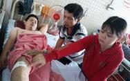 Bệnh nhân gãy đốt sống ngực, bệnh viện khoan nhầm cẳng chân