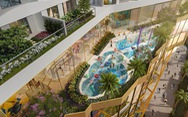 Trung tâm Chợ Lớn sắp có tổ hợp hồ bơi điện phân đồng