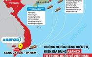 Tước quyền sử dụng nhãn hiệu chứng nhận Hàng Việt Nam chất lượng cao với Asanzo