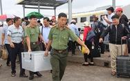 Áp tải đề thi THPT quốc gia ra đảo Phú Quốc bằng tàu cao tốc
