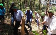 Trưởng Ban Tổ chức trung ương thị sát vụ cháy rừng Hà Tĩnh