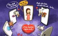 Sôi động hẹn hò ở 'chợ tình công nghệ' online
