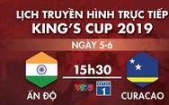 Lịch truyền hình trận Thái Lan gặp Việt Nam ngày 5-6