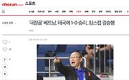 Báo Hàn: ông Park lại giúp Việt Nam củng cố vị thế số 1
