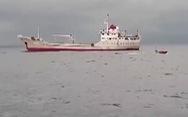 Định vị nơi tàu cá Nghệ An bị chìm nhờ robot lặn của hải quân