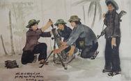 Xem ký họa 'Ký ức chiến trường' của liệt sĩ - họa sĩ Hà Xuân Phong
