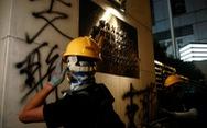 Cảnh sát trấn áp, người biểu tình Hong Kong rút lui