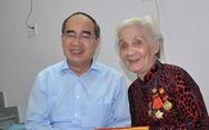 Bí thư Nguyễn Thiện Nhân đi thăm Mẹ Việt Nam Anh hùng, thương binh