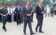 Lãnh đạo TP.HCM dâng hương tại nghĩa trang liệt sĩ TP