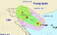 Bão cách đất liền 340km, Hà Tĩnh, Quảng Bình mưa rất lớn