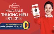 Shopee miễn phí vận chuyển toàn bộ đơn hàng trong 'Mùa sale thương hiệu'