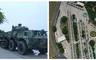 Trung Quốc triển khai xe thiết giáp 'sát nách' Hong Kong