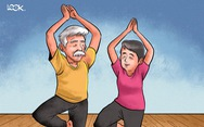 Nhờ yoga, thiền, ba tôi giã từ kiếp 'lưu linh'