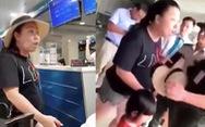 Đề xuất tạm đình chỉ công tác 30 ngày nữ công an mắng chửi nhân viên sân bay