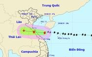 Bão số 4 giật cấp 11, cách đất liền Hà Tĩnh - Quảng Trị 170km