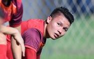 Sau trễ lịch, Quang Hải tạm nghỉ ngơi chưa tập với tuyển Việt Nam