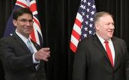Bộ trưởng Quốc phòng Mỹ mạnh mẽ lên án Trung Quốc gây mất ổn định