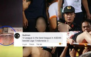 Bóng đá Việt Nam bị 'bôi đen' sau vụ cổ động viên Nam Định ném pháo sáng