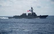 Trung Quốc lên tiếng vụ khu trục hạm USS Wayne E. Meyer của Mỹ áp sát Hoàng Sa