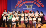 Viết về Trường Sa, học sinh lớp 5 giành giải nhất về cuốn sách yêu thích