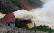 Thủy điện Hố Hô xả lũ, hạ du Hương Khê ngập lụt