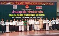 Thêm 52 suất học bổng cho tân sinh viên nghèo Quảng Trị