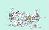 Ấn tượng tranh chuột đón xuân Canh Tý của họa sĩ ba miền